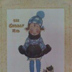 Coleccionismo Papel Varios: GRABADO THE CUDDLY KID. Lote 131698114
