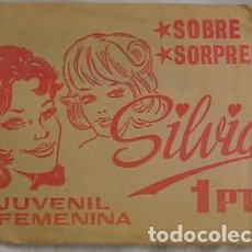 Altri oggetti di carta: SOBRE SORPRESA SILVIA. Lote 132263374