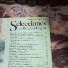 Coleccionismo Papel Varios: SELECCIONES DEL READER S DIGEST. Lote 132377342