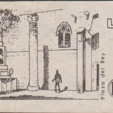 Altri oggetti di carta: BARCELONA MONUMENTAL (PLAZA DEL REY) ENTRADA 6 PESETAS SOBRE 5. Lote 132456782