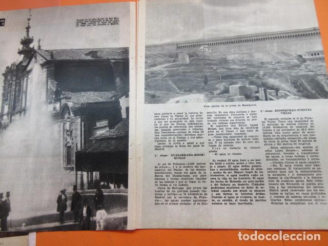 Coleccionismo Papel Varios: ARTICULO 1958 - CENTENARIO CANAL ISABLE II MADRID RIOSEQUILLO FUENTE CALLE SAN BERNARDO - 12 PAGINAS - Foto 2 - 132499674