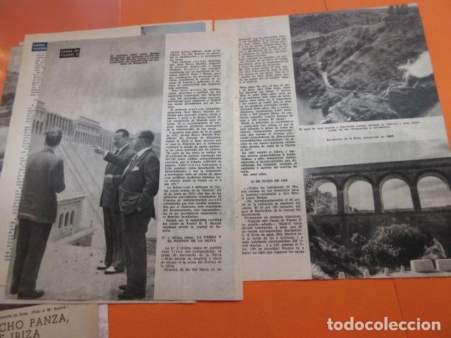 Coleccionismo Papel Varios: ARTICULO 1958 - CENTENARIO CANAL ISABLE II MADRID RIOSEQUILLO FUENTE CALLE SAN BERNARDO - 12 PAGINAS - Foto 3 - 132499674