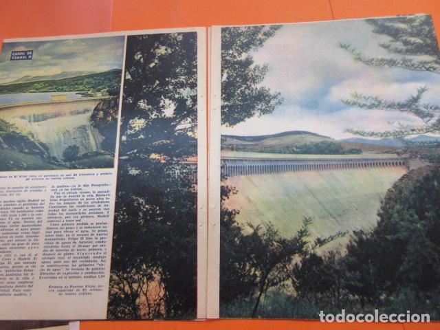 Coleccionismo Papel Varios: ARTICULO 1958 - CENTENARIO CANAL ISABLE II MADRID RIOSEQUILLO FUENTE CALLE SAN BERNARDO - 12 PAGINAS - Foto 5 - 132499674