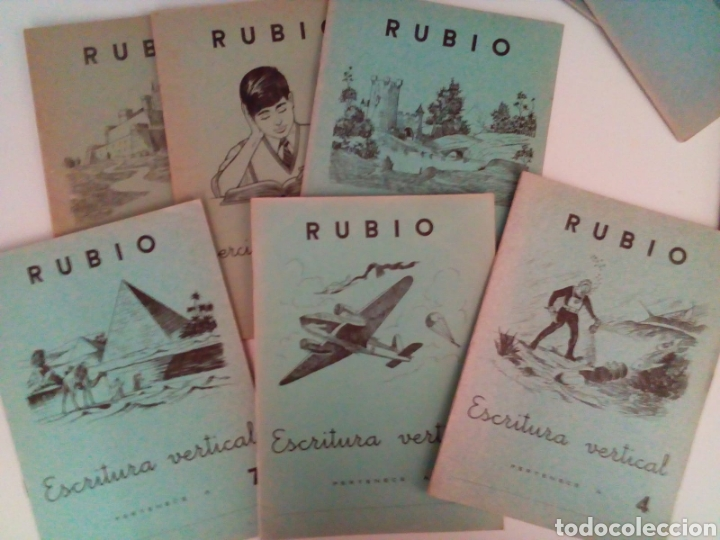 Coleccionismo Papel Varios: COLECCION DE 24 CUADERNOS ESCOLARES ANTIGUOS VARIADOS NUEVOS. - Foto 3 - 132508017