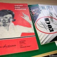 Coleccionismo Papel Varios: LOTE DE 2 CATÁLOGOS DE FOTOS KOCH. AÑOS 60. ALEMANIA. Lote 132734229