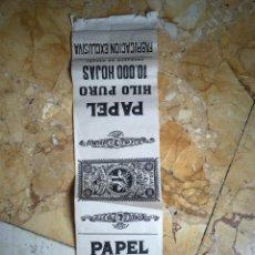 Coleccionismo Papel Varios: PUBLICIDAD PAPEL DE FUMAR MARCA KUENZLE STREIFF. Lote 132898650