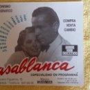 Coleccionismo Papel Varios: PUBLICIDAD DE COMPRAVENTA Y CAMBIO COLECCIONISMO FOTOGRAFICO....CASABLANCA. Lote 133349222
