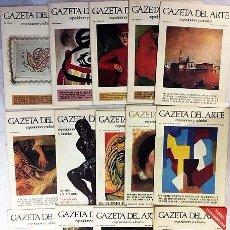 Coleccionismo Papel Varios: GAZETA DEL ARTE : PRIMEROS 13 NÚMEROS + EXTRAORDINARIO DE PICASSO (REVISTA CRÍTICA DE ARTE . Lote 133575118