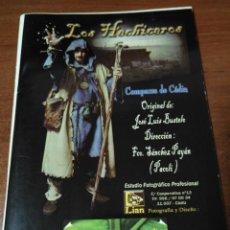 Coleccionismo Papel Varios: CARNAVAL DE CÁDIZ LIBRETO LOS HECHICEROS. Lote 133753330