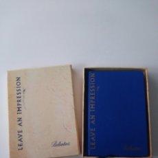 Coleccionismo Papel Varios: CUADERNO DE NOTAS: BALLANTINE'S. Lote 133843390