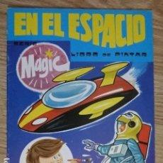 Coleccionismo Papel Varios: LIBRO DE PINTAR EN EL ESPACIO SERIE MAGIC 4 EDIVAS AÑO 1981 AÑOS 80 CIENCIA FICCION. Lote 134016634