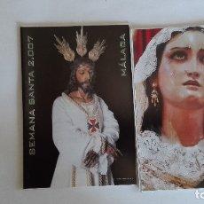 Coleccionismo Papel Varios: ITINERARIO SEMANA SANTA MALAGA 2007. Lote 133836518