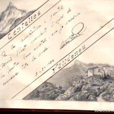 Coleccionismo Papel Varios: CUADERNO DE POEMAS, DIBUJOS Y AUTÓGRAFOS DE DISTINTOS PERSONAJES. 1939-1956. Lote 134889342