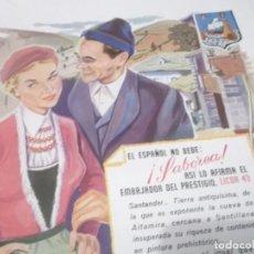 Coleccionismo Papel Varios: RECORTE REPORTAJE AÑOS 50/60 - LA NUEVA ESTATUA DEL CID Y SU TUMBA EN LA CATEDRAL DE BURGOS. Lote 135601922