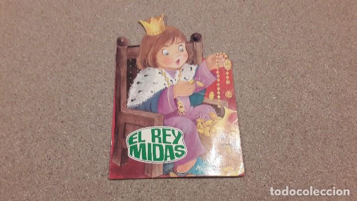 CUENTOS TROQUELADOS. ...EL REY MIDAS............1988.. (Coleccionismo en Papel - Varios)
