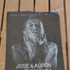 Coleccionismo Papel Varios: FOLLETO SOBRE LA EXPOSICION DEL PINTOR JOSE LADRON DE GUEVARA,2016,UBEDA (JAEN). Lote 136264938