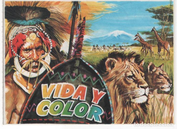 Antiguo Vale Descuento de 5 Ptas. Álbum Vida y Color segunda mano