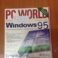 Coleccionismo Papel Varios: PC WORLD WINDOWS 95. Lote 136508334