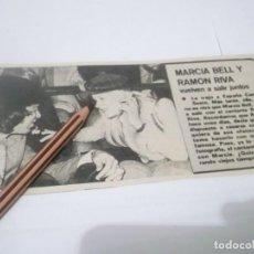 Coleccionismo Papel Varios: RECORTE PUBLICIDAD AÑOS 60/70 - LA CANTANTE MARCIA BELL /EXCAMILO SESTO )Y EL CANTANTE RAMON RIVA. Lote 137202962