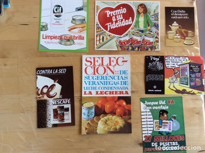 FOLLETOS PUBLICITARIOS VARIADOS ANTIGUOS (Coleccionismo en Papel - Varios)