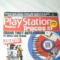 Coleccionismo Papel Varios: PLAYSTATION MAGAZINE TRUCOS NÚMERO 5 / METAL GEAR SOLID, GTA, ETC.. Lote 137350629
