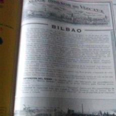 Coleccionismo Papel Varios: ALTOS HORNOS DE VIZCAYA 1928 BILBAO GRUPO ILGNER BARACALDO FABRICA DE BARCALDO NUEVO TREN DE DESBAST. Lote 137751842