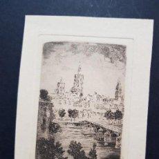 Coleccionismo Papel Varios: ANTIGUA LITOGRAFÍA VALENCIA. Lote 137756550
