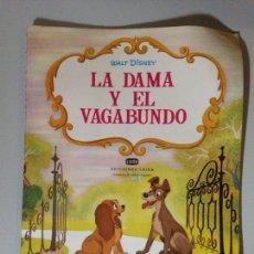 Coleccionismo Papel Varios: LA DAMA Y EL VAGABUNDO. Lote 137775824