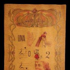 Coleccionismo Papel Varios: JEROLÍFICO EN PAPEL DE PARAFINA, MUY DECORATIVO, ANTIGUO, 42 X 30. Lote 137870010