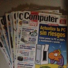 Coleccionismo Papel Varios: LOTE DE 20 REVISTAS DE COMPUTER HOY. Lote 138314784
