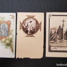 Coleccionismo Papel Varios: ANTIGUAS ESTAMPAS RELIGIOSAS RECORDATORIOS PORTMAN LA UNIÓN MURCIA AÑOS 20. Lote 138530114