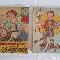 Coleccionismo Papel Varios: ALMANAQUE BENJAMIN ( 1948 - 1952 ) ILUSTRADO. Lote 138709402