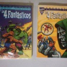 Coleccionismo Papel Varios: LOTE LOS 4 FANTÁSTICOS. Lote 139046324