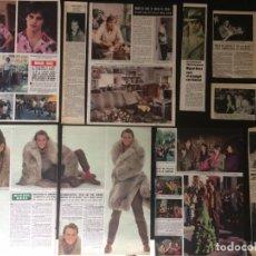 Coleccionismo Papel Varios: LOTE PRENSA RECORTES MIGUEL BOSE CLIPPINGS. Lote 139083850