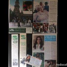 Coleccionismo Papel Varios: LOTE PRENSA PALOMA SAN BASILIO RECORTES CLIPPINGS. Lote 139085318