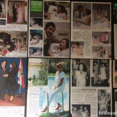 Coleccionismo Papel Varios: LOTE PRENSA ROCÍO JURADO RECORTES CLIPPINGS. Lote 139088234