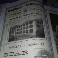 Coleccionismo Papel Varios: EIBAR BONIFACIO ECHEVERRIA FABRICA DE ARMAS MODERNAS PISTOLAS AUTOMATICAS STAR 1926. Lote 139309082