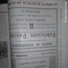 Coleccionismo Papel Varios: JOSE MANUEL DELGADO GONZALEZ ANTIGÜEDADES Y FABRICIANO PASCUAL ANTIGÜEDADES MADRID. Lote 139316194