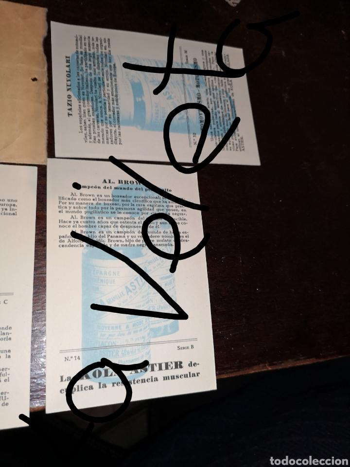 Coleccionismo Papel Varios: Lote cromos Astier. - Foto 8 - 139539401