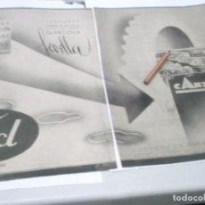 Coleccionismo Papel Varios: RECORTE PUBLICIDAD AÑOS 40/50 - TALLERES DE CONSTRUCCIÓN DE CARROCERIAS-FORD - G.ANZOLA.SEVILLA. Lote 139890878