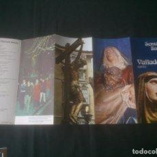 Coleccionismo Papel Varios: DESPLEGABLE PROPAGANDA. SEMANA SANTA . VALLADOLID 1975. Lote 140315950