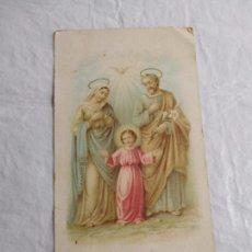 Coleccionismo Papel Varios: M69 TARJETA RELIGIOSA RECORDATORIO PRINCIPIOS SIGLO XX. Lote 140461718