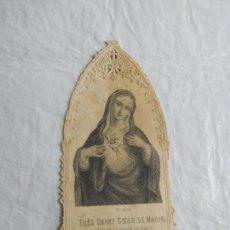 Coleccionismo Papel Varios: M69 TARJETA RELIGIOSA RECORDATORIO SIGLO XIX. Lote 140462018