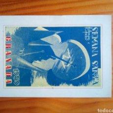 Coleccionismo Papel Varios: PROGRAMA SEMANA SANTA GRANADA 1959. Lote 140465861