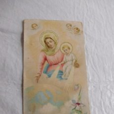 Coleccionismo Papel Varios: M69 TARJETA RELIGIOSA RECORDATORIO PRINCIPIO DEL SIGLO XX. Lote 140518350