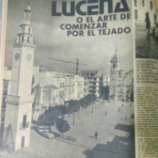 Coleccionismo Papel Varios: AÑO 1973 RECORTES PRENSA LUCENA. Lote 140546140