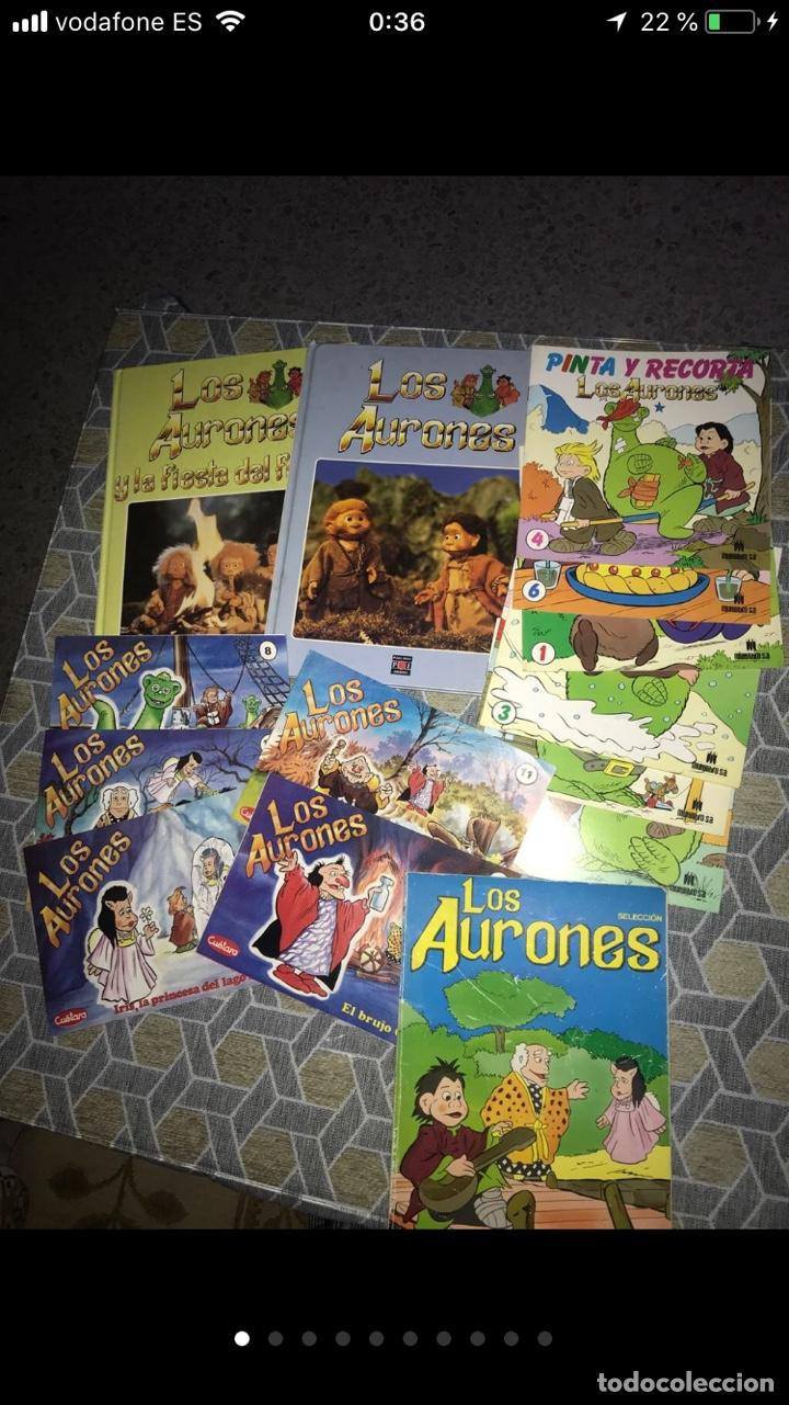 LOTE DE TEBEOS CÓMICS LOS AURONES (Coleccionismo en Papel - Varios)