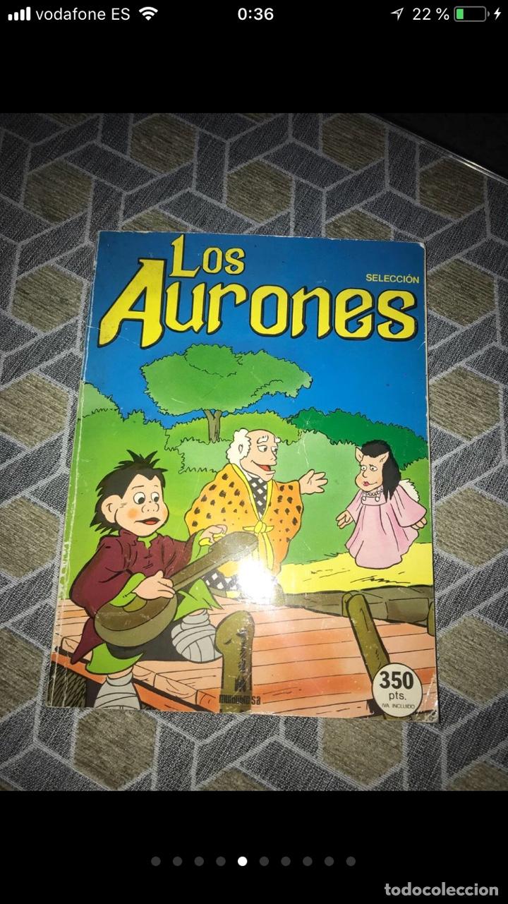Coleccionismo Papel Varios: Lote de tebeos cómics los Aurones - Foto 4 - 140684288