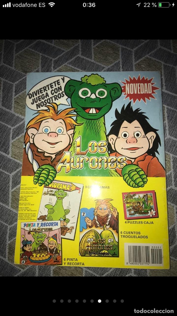 Coleccionismo Papel Varios: Lote de tebeos cómics los Aurones - Foto 6 - 140684288