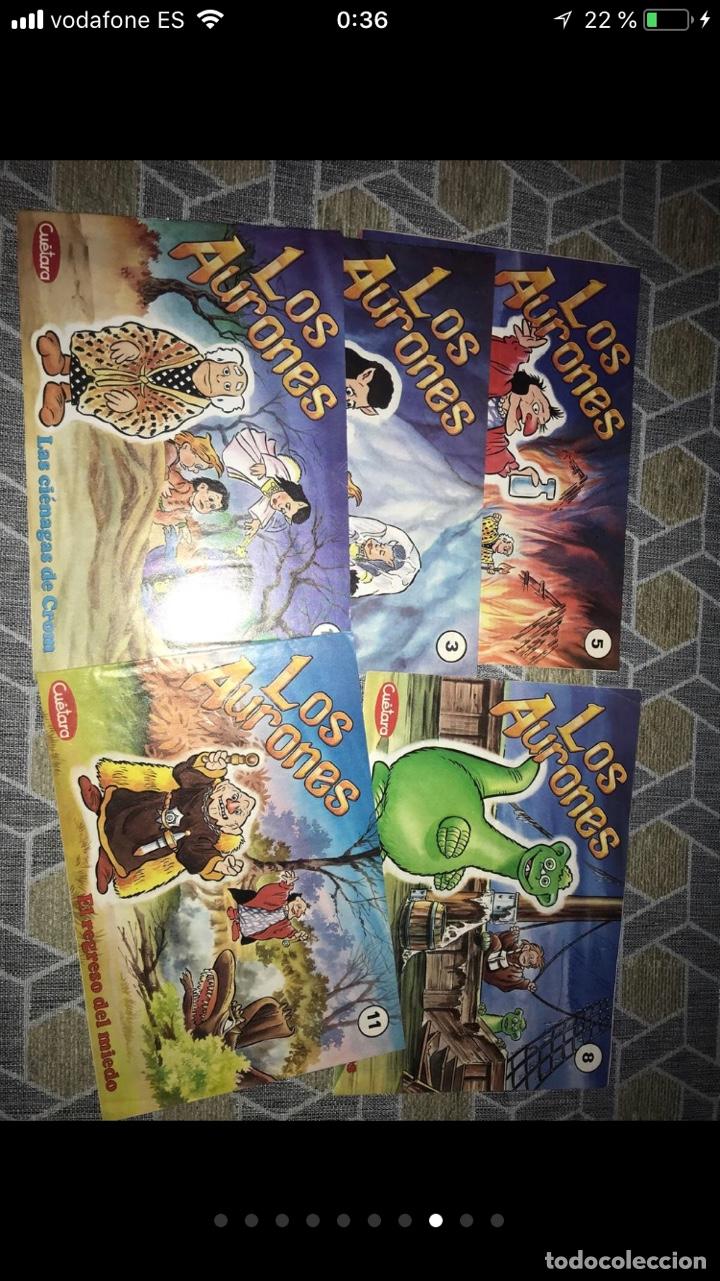 Coleccionismo Papel Varios: Lote de tebeos cómics los Aurones - Foto 7 - 140684288